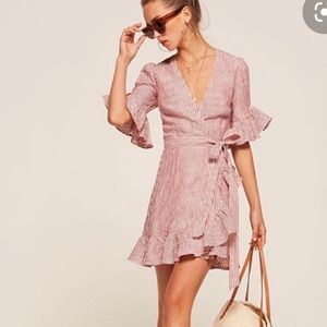 Reformation Dresses - Reformation Kelsey linen dress